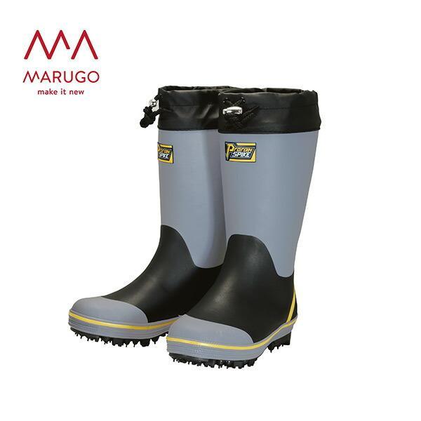 長靴 作業用 プロレインスパイク M-31 PRSPM31 06:グレー 作業用長靴 ロング 安全 ゴム長靴 丸五 マルゴ