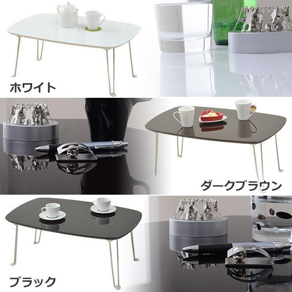 折りたたみローテーブル(75×50) TML-7550 折りたたみテーブル ローテーブル リビングテーブル|e-kurashi|02