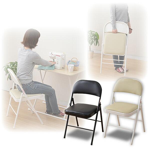 折りたたみチェア YMC-22 折り畳みチェア 折畳 折畳み 椅子 イス いす チェアー【あすつく】|e-kurashi