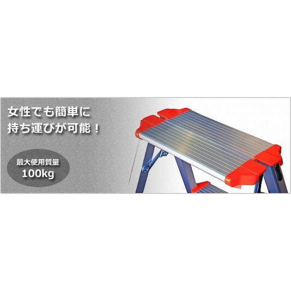 踏み台(2段) 脚立 CCA-60K【10%OFF除外品】|e-kurashi|02