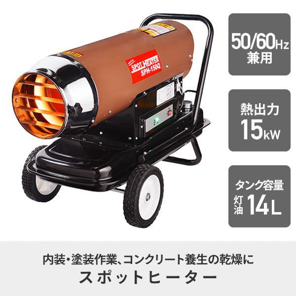 スポットヒーター(50・60Hz兼用) KH-50 電気暖房 スポットヒーター ヒーター 作業場 e-kurashi 02