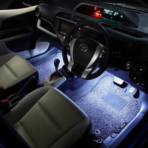 LED フットランプ / フットライト キット  | アクア(NHP10)専用 | エーモン/e-くるまライフ|e-kurumalife|04