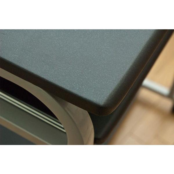 パソコンデスク おしゃれ 60cm 木製 パソコンラック スリム|e-living|06