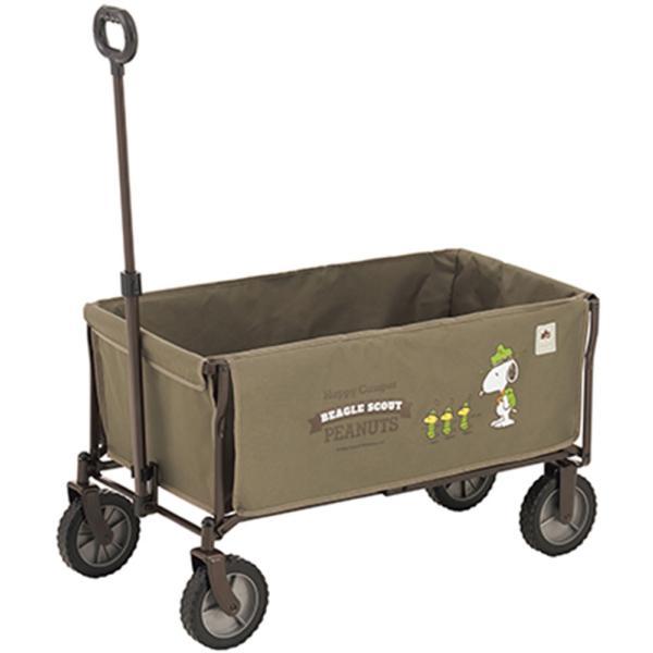 ロゴス LOGOS SNOOPY 洗える キャリーカート ワゴン キャリーカート スヌーピー アウトドア キャンプ BB