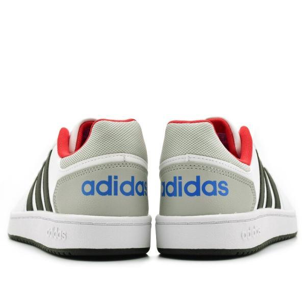 アディダス adidas アディフープス ADIHOOPS 2.0 K ホワイト/レッド・ホワイト/ネイビー|e-minerva|07