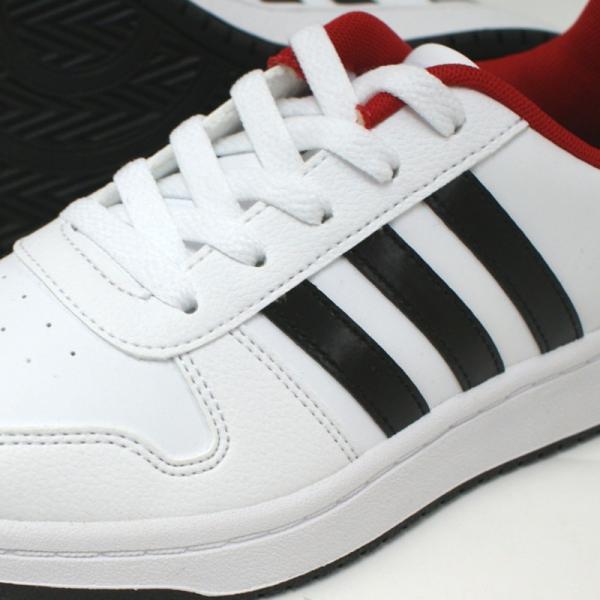 アディダス adidas アディフープス ADIHOOPS 2.0 K ホワイト/レッド・ホワイト/ネイビー|e-minerva|08