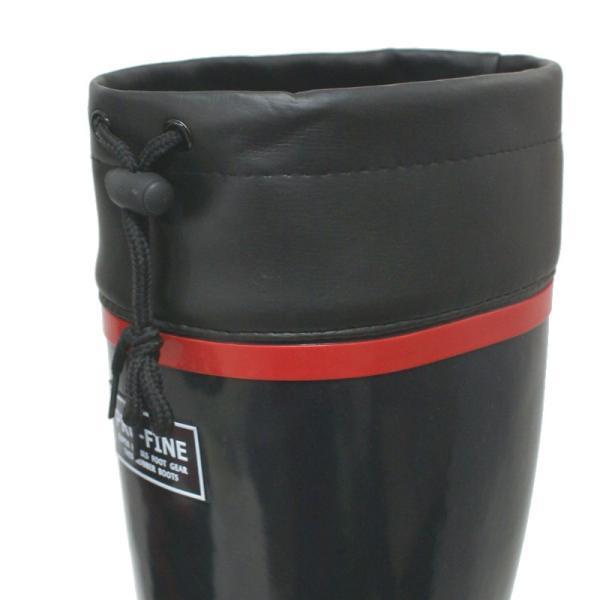 長靴 作業用 レインブーツ プロファイン NR-1000 ブラック|e-minerva|02