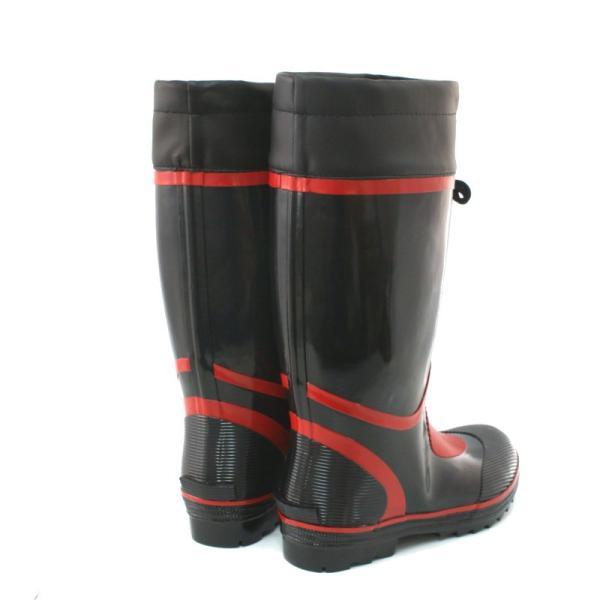 長靴 作業用 レインブーツ プロファイン NR-1000 ブラック|e-minerva|04