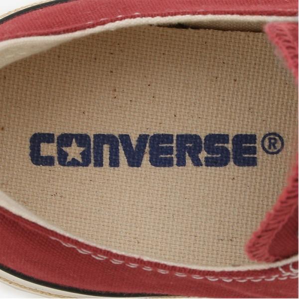 コンバース CONVERSE オールスター ウォッシュドキャンバス WASHEDCANVAS OX ゴールド・ブルー・レッド|e-minerva|05
