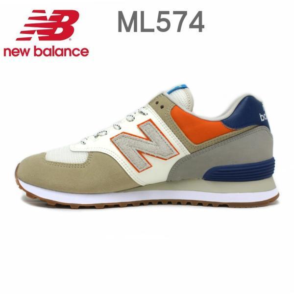 ニューバランス メンズ レディース スニーカー New Balance ML574 (NFT)INCENSE/ORANGE・(NFU)MAGNET/GREEN e-minerva 04