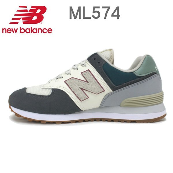 ニューバランス メンズ レディース スニーカー New Balance ML574 (NFT)INCENSE/ORANGE・(NFU)MAGNET/GREEN e-minerva 05