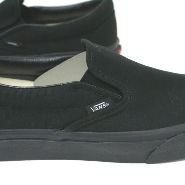 バンズ VANS CLASSIC SLIP-ON クラシックスリッポン VN000EYEBKA BLACK/BLACK【並行輸入品】|e-minerva|04
