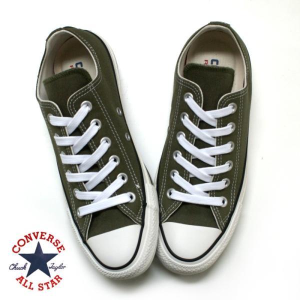 コンバース CONVERSE オールスター 100 カラーズ ALL STAR COLORS OX オリーブ・パープル|e-minerva|05