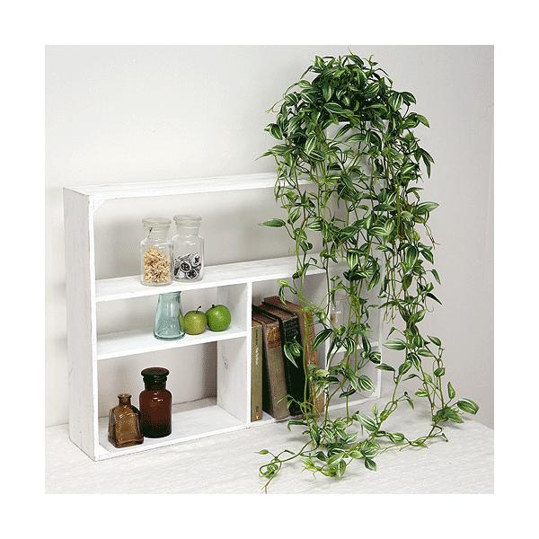 グリーン  トラディスカンティア スクエア鉢 造花 インテリア 観葉植物 フェイクグリーン 消臭 光触媒 CT触媒 高級 リアル おしゃれ 室内 ギフト 葉っぱ