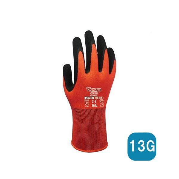 作業用手袋 ワンダーグリップ コンフォート レッド(WG310 )10双