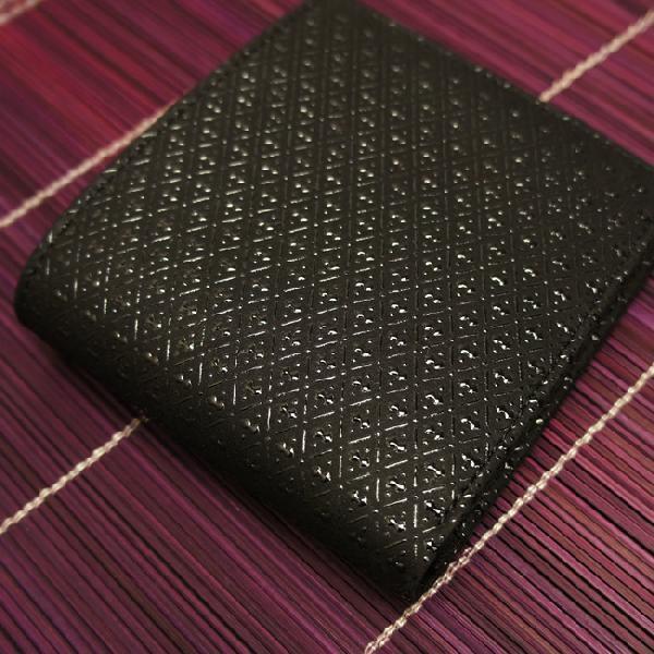 c7b63d79404a ... 財布 メンズ 二つ折り 本革 日本製 ひょうたん柄 二つ折り財布 小銭入れあり ...