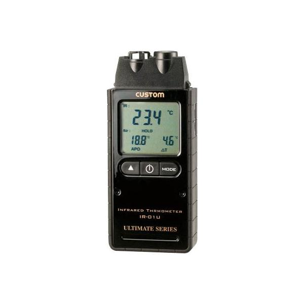 カスタム 赤外線放射温度計(レーザーポイント付) IR-01U