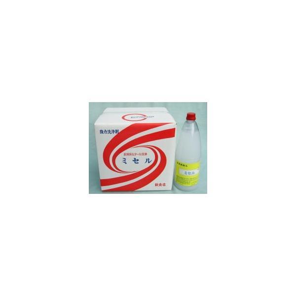 頑固な油汚れに 強力洗浄 ミセル 洗剤 厨房 1.8L×12本 厨房用洗浄剤|e-monokoubou
