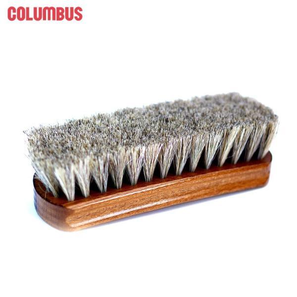 コロンブス シューケア 靴用ブラシ 馬毛ブラシ ジャーマンブラシ1