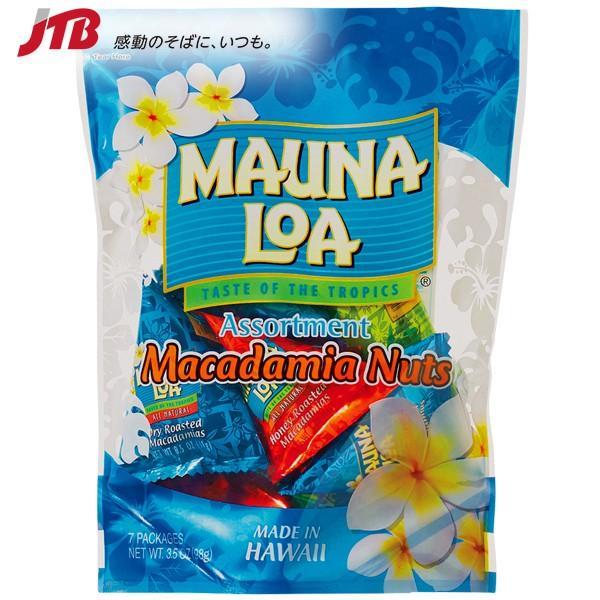 ハワイ お土産 マウナロア3種アソートバッグ|ナッツ・豆菓子 ハワイ ハワイ土産 お菓子 ギフト プレゼント おつまみ おやつ 手土産 お返し