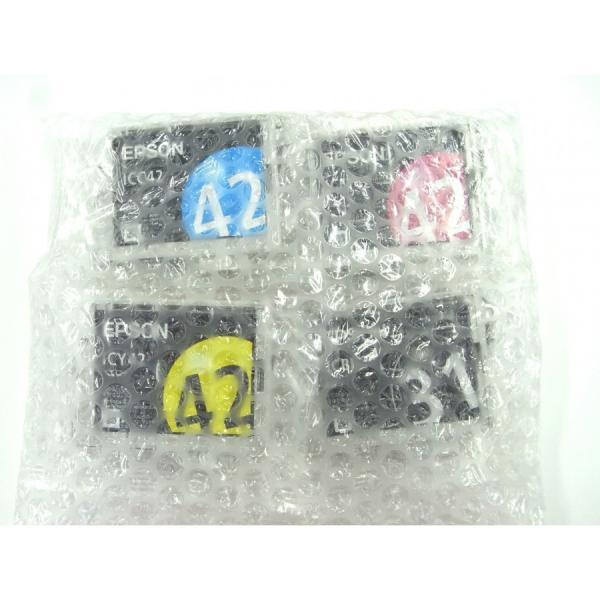 送料無料 【純正アウトレットインク】EPSON(エプソン)純正 インクカートリッジ 4色セット IC4CL42 《発送日より3ヶ月間保証付》|e-plaisir-shop|03