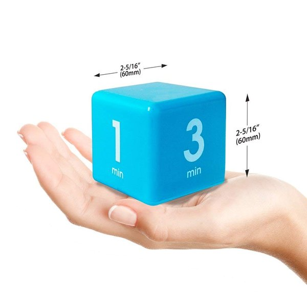 Cube Timer 4time options:1,3,5or7 minute DF-35(TIME CUBE) e-plaisir-shop 02