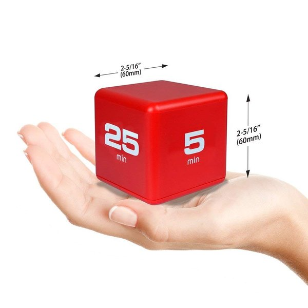 Cube Timer 4time options:5,10,20or25 minute DF-38(TIME CUBE)|e-plaisir-shop|02