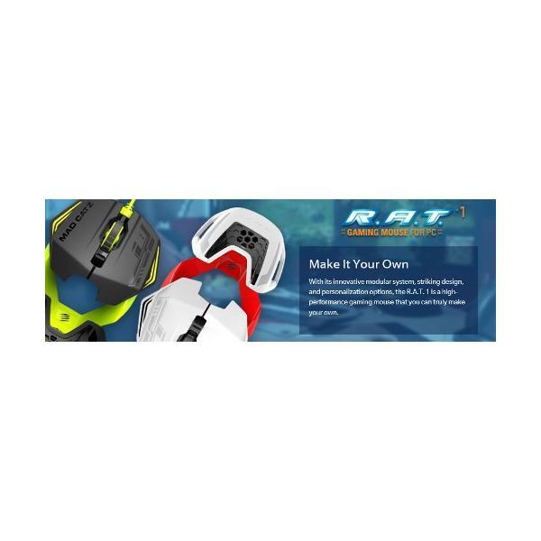 【新品・パケ不良アウトレット価格】MadCatz(マッドキャッツ) R.A.T. 1 S マウス ブラック MC-R1-BK|e-plaisir-shop|06