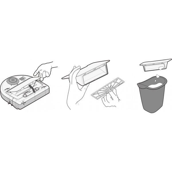 ロボット掃除機 お掃除ロボット ネイト BV-D8500|e-plaisir-shop|08