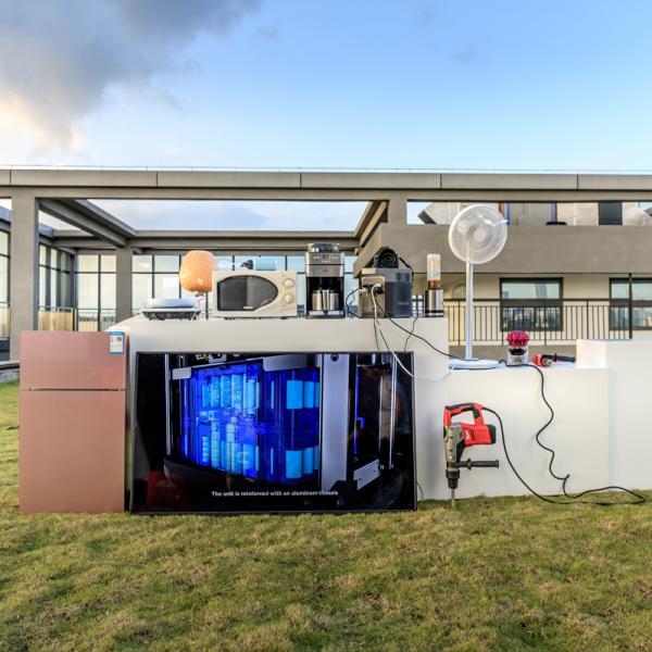 【8月入荷予定】 大容量バッテリー 充電器 ポータブル電源 容量 340540mAh (1260Wh) ECOFLOW EFDELTA1300-JP ソーラーパネルセット版|e-plaisir-shop|07