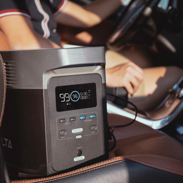 【8月入荷予定】 大容量バッテリー 充電器 ポータブル電源 容量 340540mAh (1260Wh) ECOFLOW EFDELTA1300-JP ソーラーパネルセット版|e-plaisir-shop|09