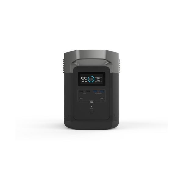 【8月入荷予定】 大容量バッテリー 充電器 ポータブル電源 容量 340540mAh (1260Wh) ECOFLOW EFDELTA1300-JP ソーラーパネルセット版|e-plaisir-shop|10