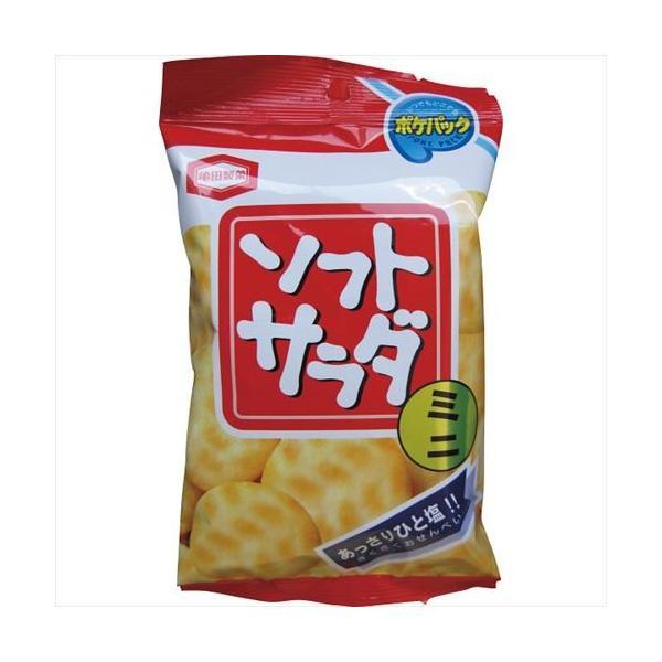 亀田製菓 ソフトサラダポケパック  Pソフト  サクサクあっさり塩せんべい 粗品・記念品   21s0636-026