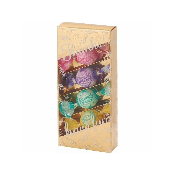 アマイワナ バスキャンディー4粒セット  ゴールド キャンディみたいなフレグランス入浴剤セット 21s0292-076