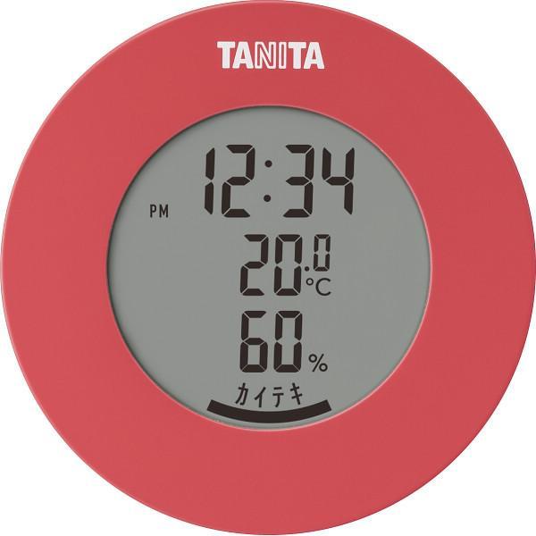 タニタ デジタル温湿度計 ピンク (TT585PK)