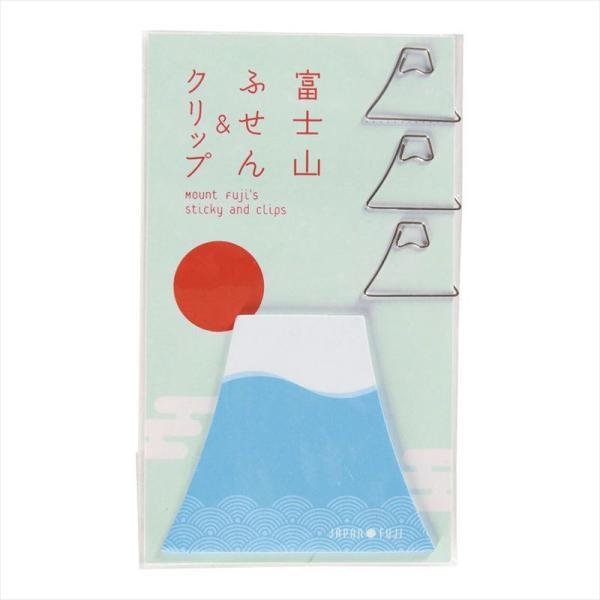富士山付箋&クリップ (7284)