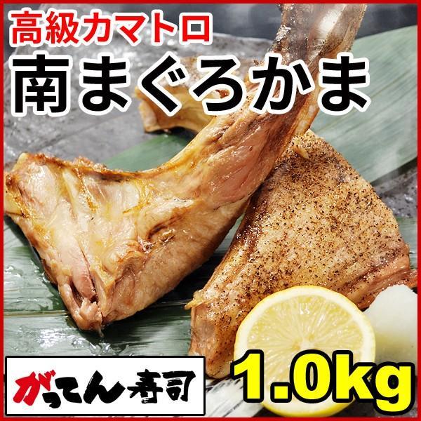 まぐろカマ1.0kg 高級ミナミマグロのかま かま焼き/かま煮付け/カマトロ/がってん/同梱