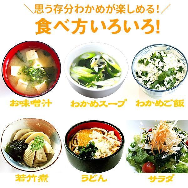 乾燥カットわかめ90g /ワカメ/スープ/国産/送料無料/海藻/味噌汁/がってん/メール便|e-rdc|06