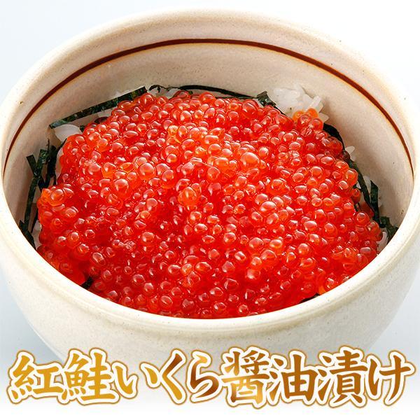 紅鮭いくら醤油漬け500g(250g×2) /イクラ/がってん|e-rdc