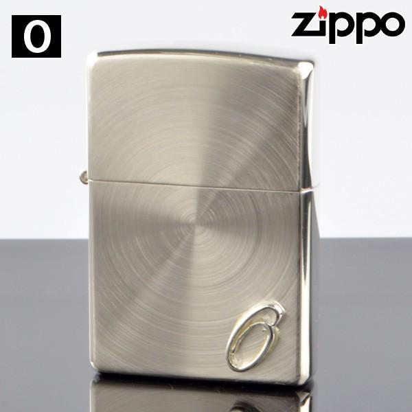 ZIPPO#200 スピン加工 イニシャル柄 ssp-o メタル貼り O (10020030) ジッポーライター