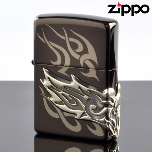 ZIPPO#200 サイドメタル加工 10020035 サイドドクロ (10020036) ジッポーライター