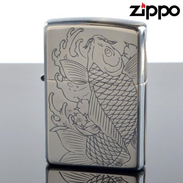fukashiro ZIPPO ジッポライター 1201s542 FCZP JPD2 コイ SV