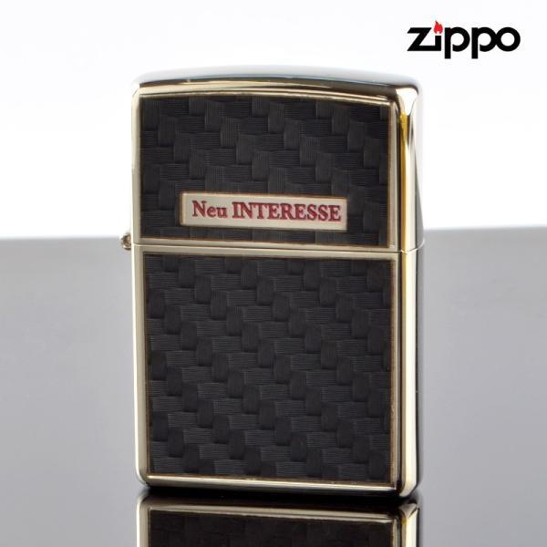 FCZP Zippo ジッポライター 12ni0005 Neu INTERESSE ZP 200BK-01