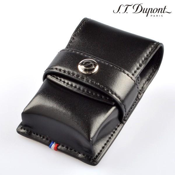 デュポン ライター 180024 レザーライターケース ブラック LIGHTER CASE デュポンライター[Dupont] ブランド ライター ライターケース