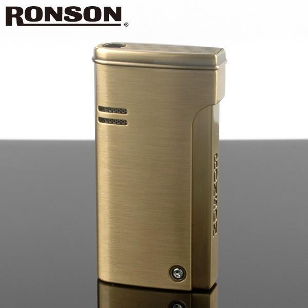ロンソン ターボライター [RONSON] r29-0001 ブラスサテン( Ronson ロンソン バーナーフレームライター ブランド ライター )ロンジェット