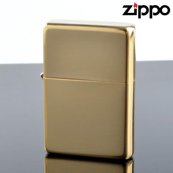 Zippo ジッポライター zp270cc スタンダードフラットトップビンテージ ブラスポリッシュ オイルライター