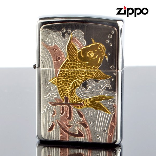 Zippo ジッポライター zp63290698 伝統工芸 彫金漢字シリーズ 恋