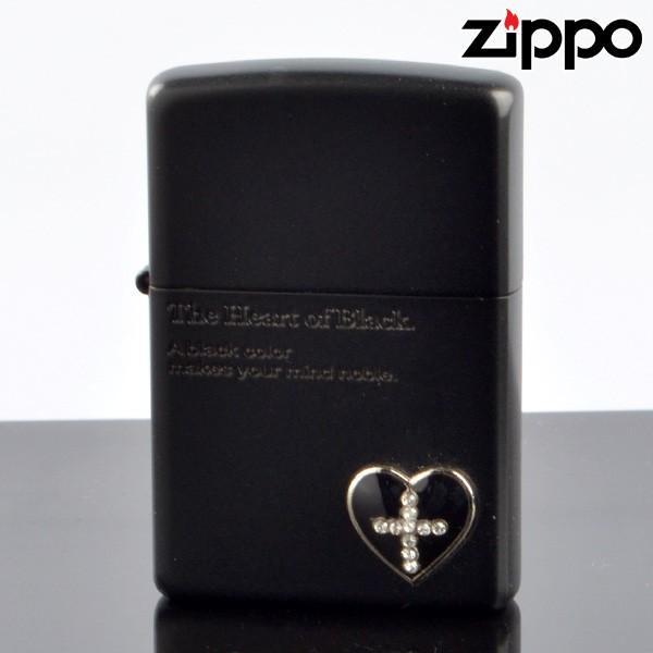 ZIPPO#200 ザ・ハート オブ カラー メタル貼り マットラッカー ブラック hc-mbk (10020057) ジッポーライター