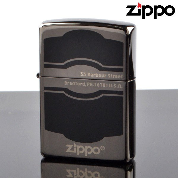 fukashiro ZIPPO ジッポライター 1201s428 BK ラッカー仕上げ BK ニッケル エッチング加工