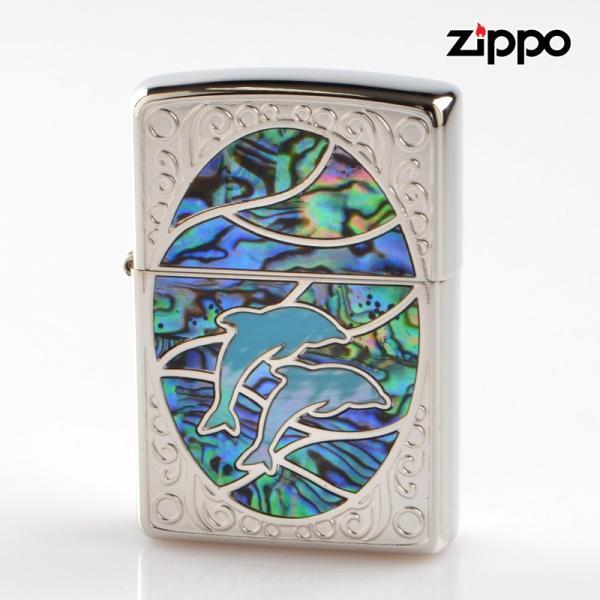 Zippo ジッポライター 1201s603 シェルドルフィン GRBL